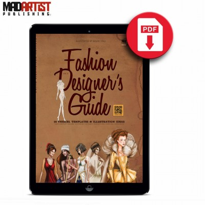 eBook - Fashion Designer's Guide: 50 Themes, Templates & Illustration Ideas - VOL 1