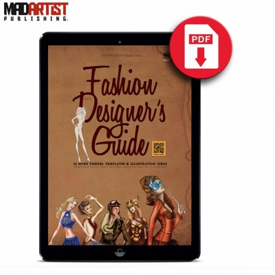 eBook - Fashion Designer's Guide: 50 More Themes, Templates & Illustration Ideas - VOL 2