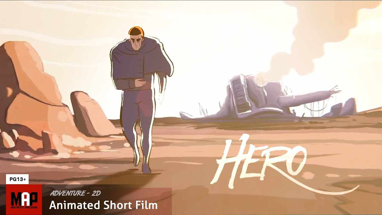 Adventure 2D Animated Short Film ** HERO: A Blender Open Movie Project** by Daniel Martinez Lara