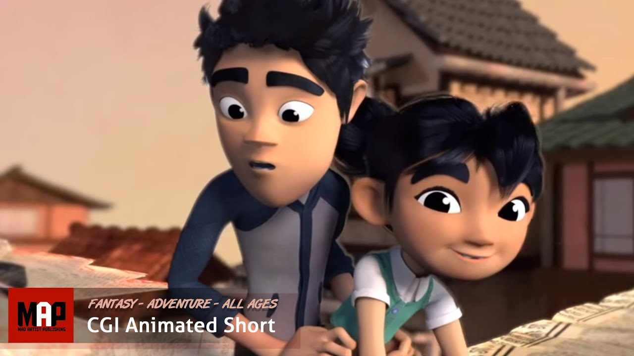 Adventure CGI 3d Animated Short Film ** THE WISHING CRANES ** Cute Animation by Ringling College