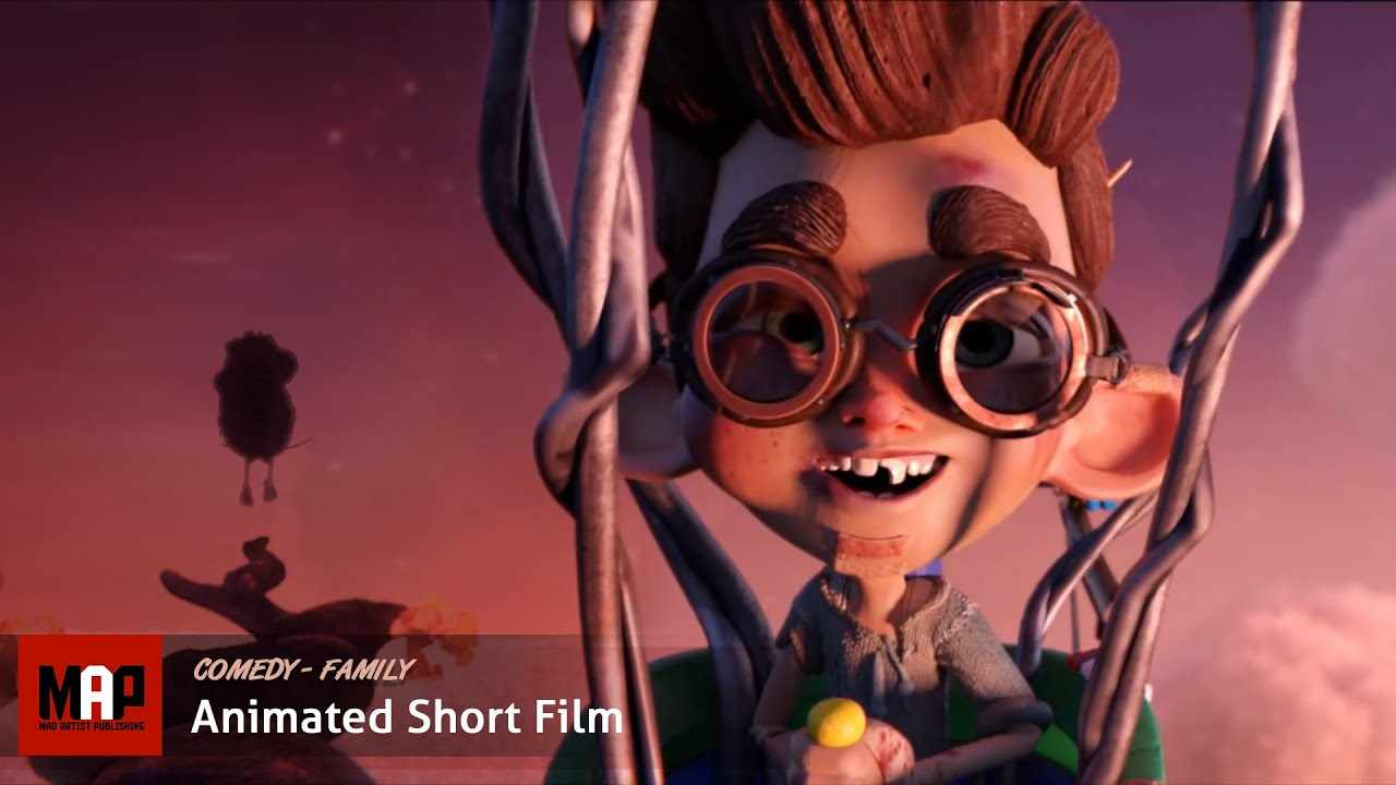 CGI 3d Animated Short Film ** IT'S A BIRD THING ** Funny Tim Burtonish movie by IsART Digital Team
