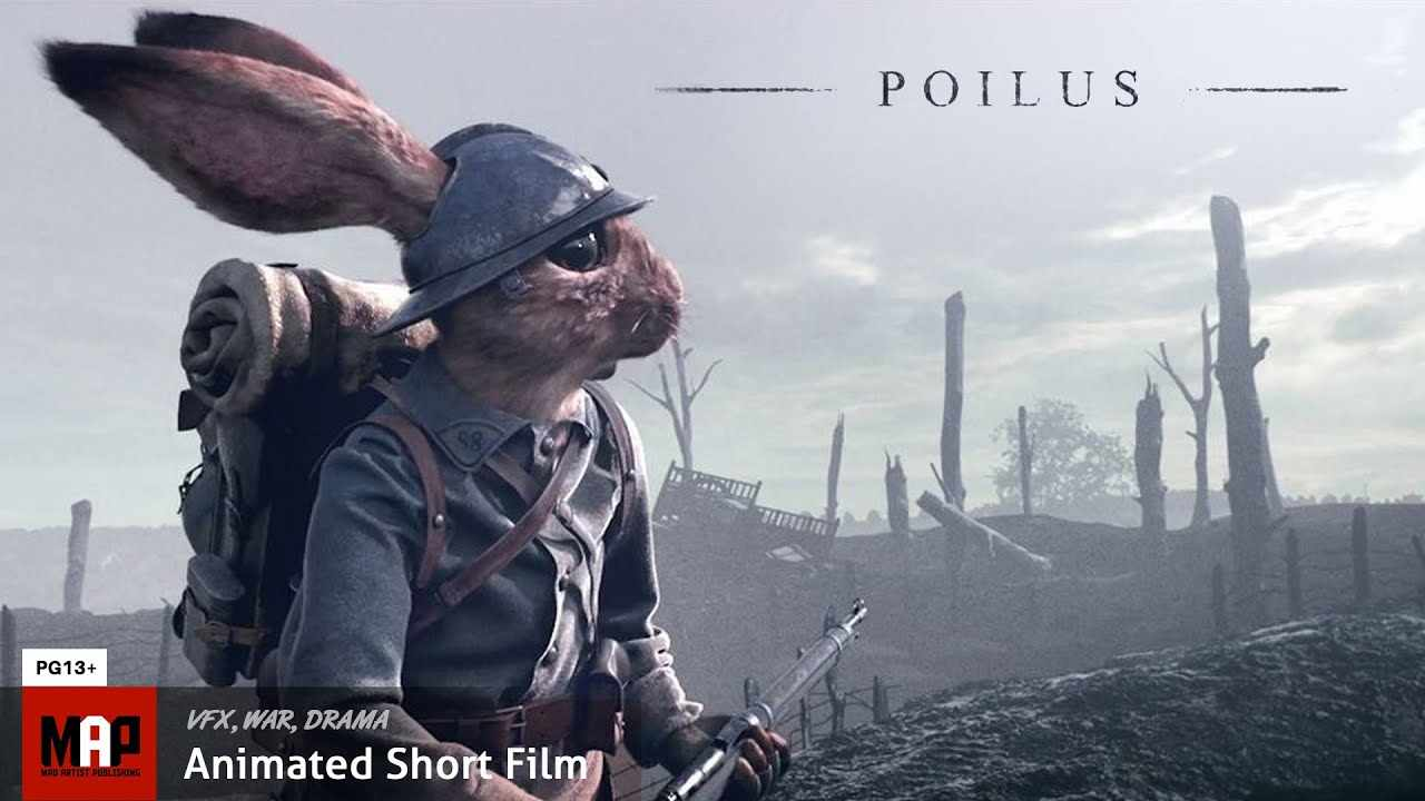 CGI 3d Animated War Short Film ** POILUS ** by IsArt Digital Team [PG13]