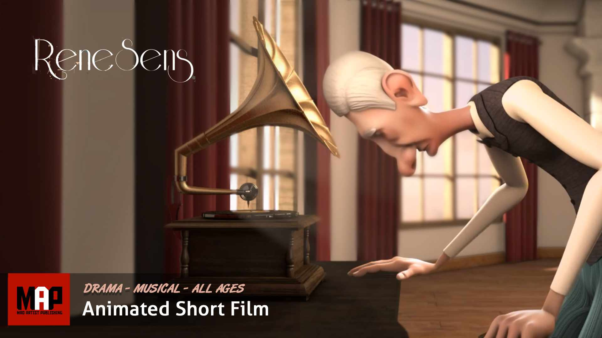 Musical Drama CGI 3D Animated Short Film ** RENESENS ** Animation by Simon Loisel  Supinfocom Rubika