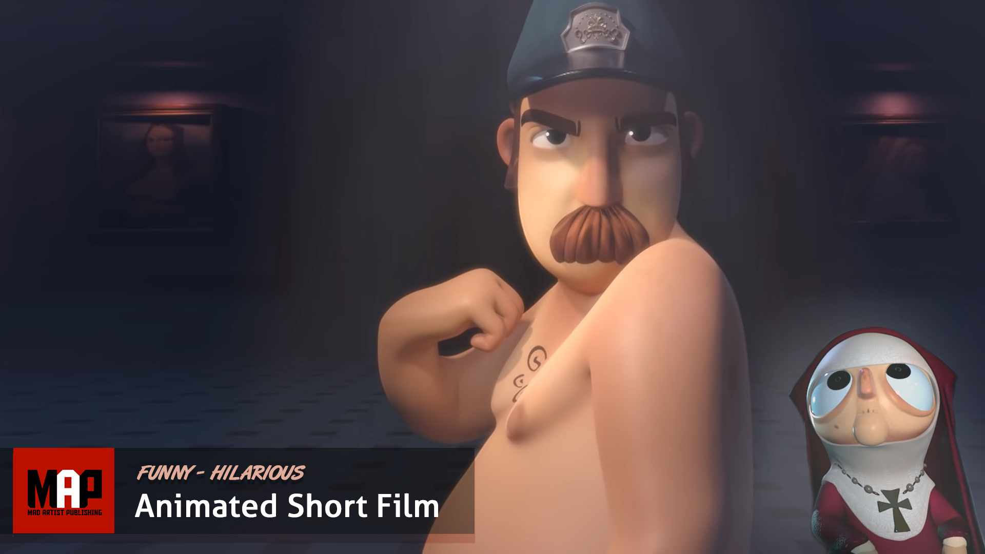 CGI 3d Animated Short Film ** NONE OF THAT ** Funny Hilarious Animation by Ringling College