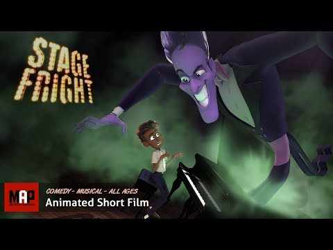 Cute Musical CGI Animated Short Film ** STAGE FRIGHT ** by Lauren Jacobsen & Zachary Morawski
