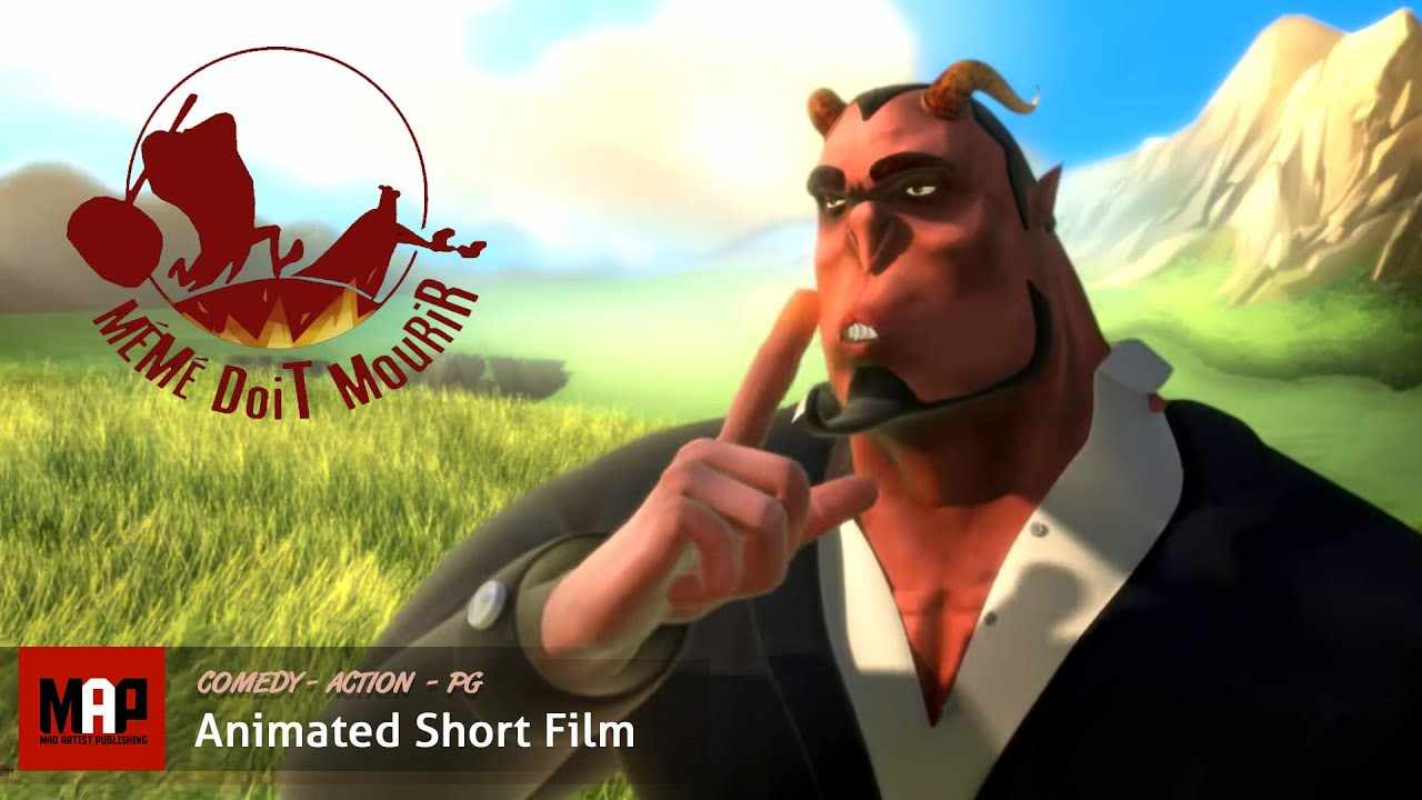 Devilishly Funny CGI 3D Animated Short Film ** GRANNY MUST DIE ** Hilarious Cartoon by IsArt Digital