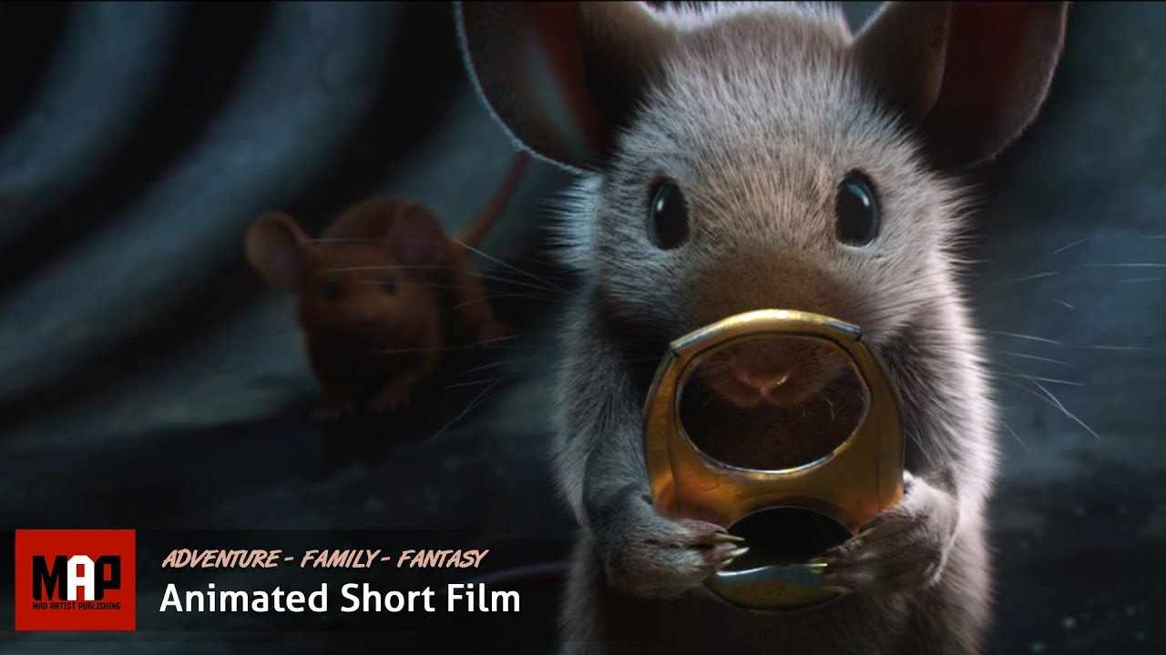 Adventure CGI 3d Short Animated Film ** MICE: A Small Story ** Cute Family Videos For Kidsby ISART