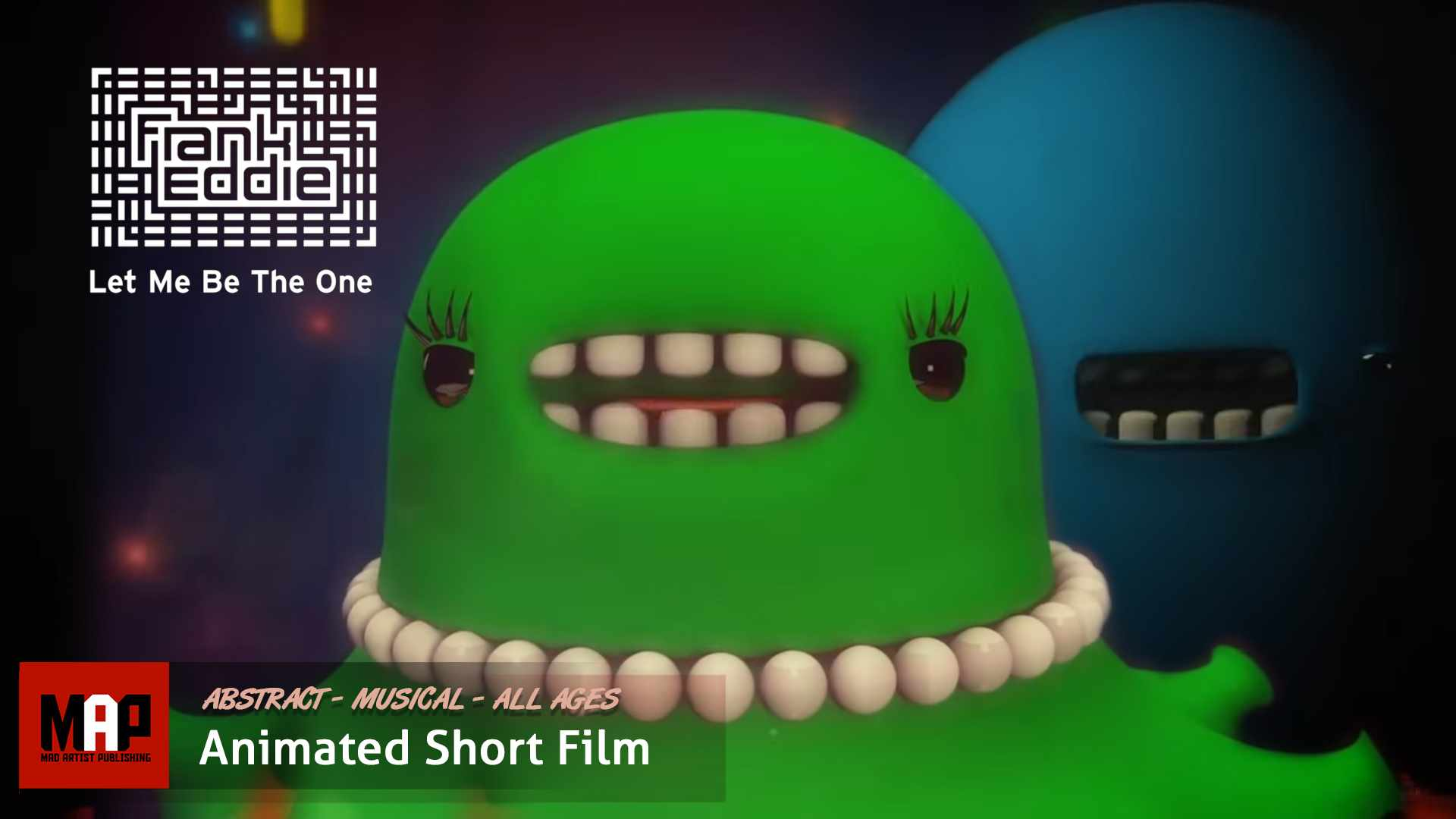 SURREAL CGI 3D Animation Music Video ** FRANK EDDIE: LET ME BE THE ONE ** by Kaplin & Airside Nippon