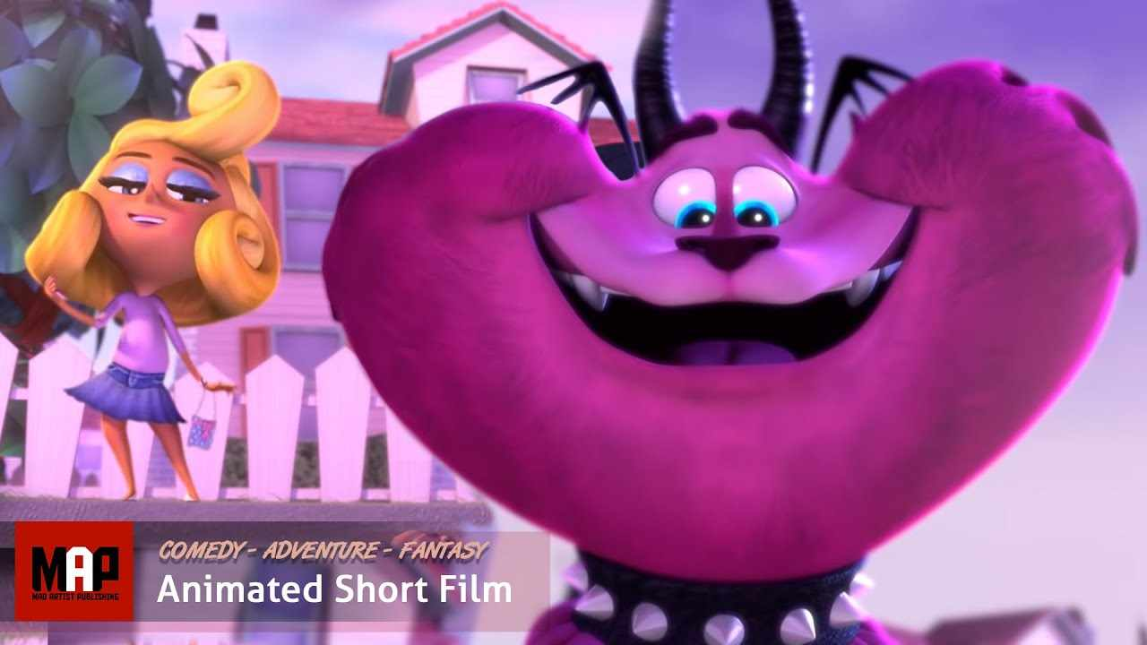 Funny CGI 3d Animated Short Film ** THE COLORS OF EVIL ** Creepy Cute Animation CGI film