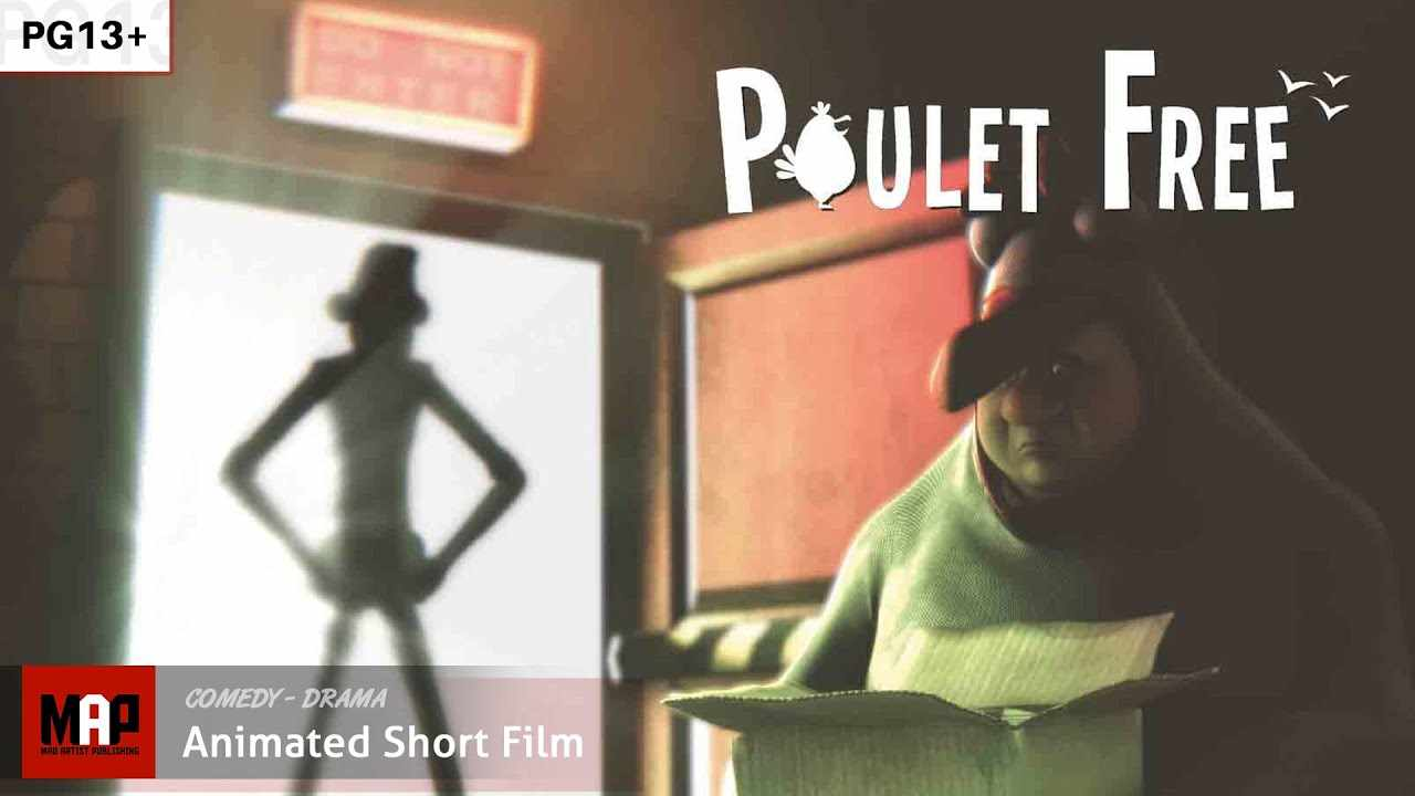 Funny CGI 3D Animated Short ** POULET FREE ** Animation Film by IsART Digital Team