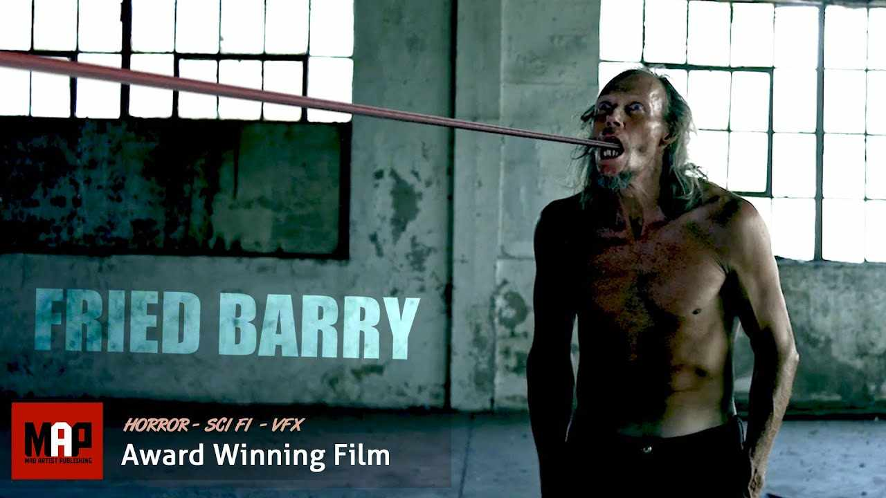 Horror Sci-Fi Short Film ** FRIED BARRY ** Twisted Creepy Alien Movie by Ryan Kruger