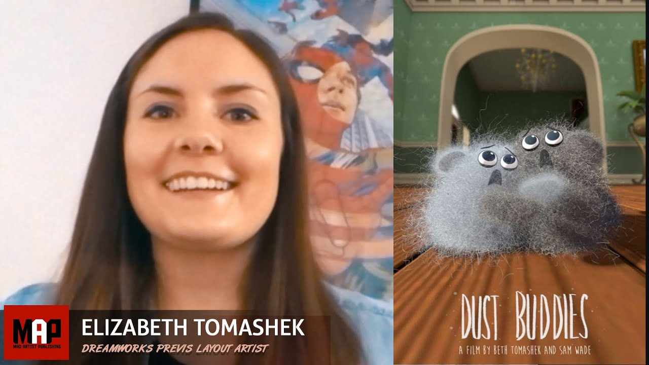 How To Get A Dream Job at Dreamworks - Previs Layout Artist Elizabeth Tomashek Interview