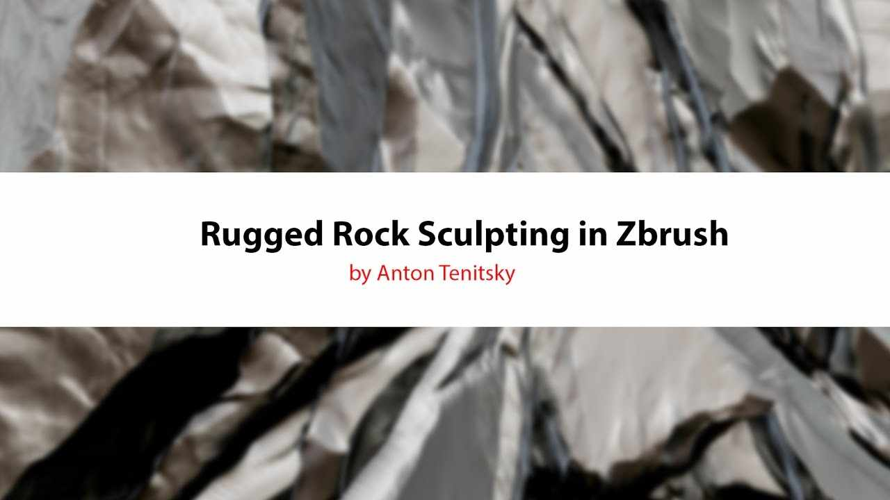 Rugged Rocks Sculpting in Zbrush