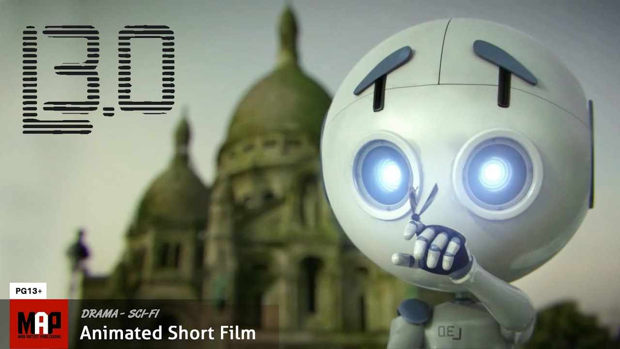 Sci-Fi 3d CGI Animated Short Film  **  L3.0 ** by ISART Digital Team [PG13]