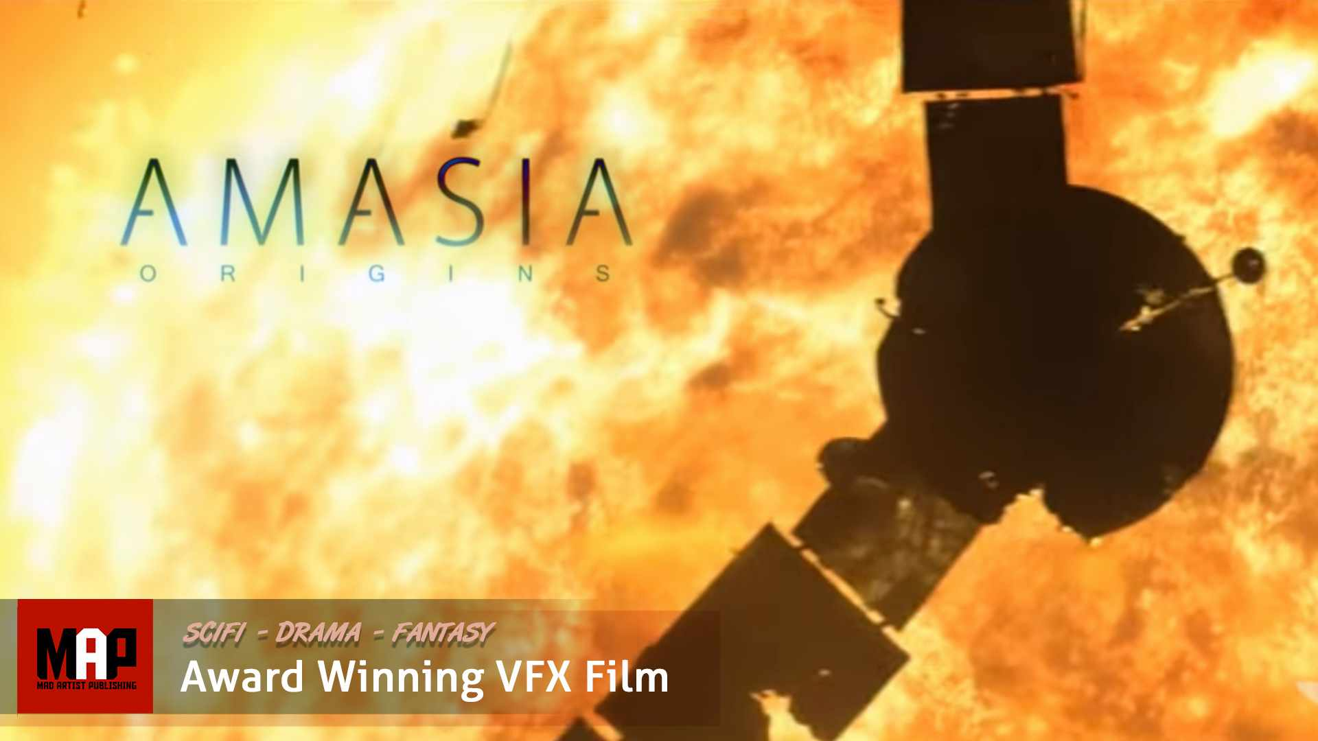 Sci-Fi Apocalypse CGI VFX Short Film ** AMASIA ** Remarkable Award Winning film by Artfx Team