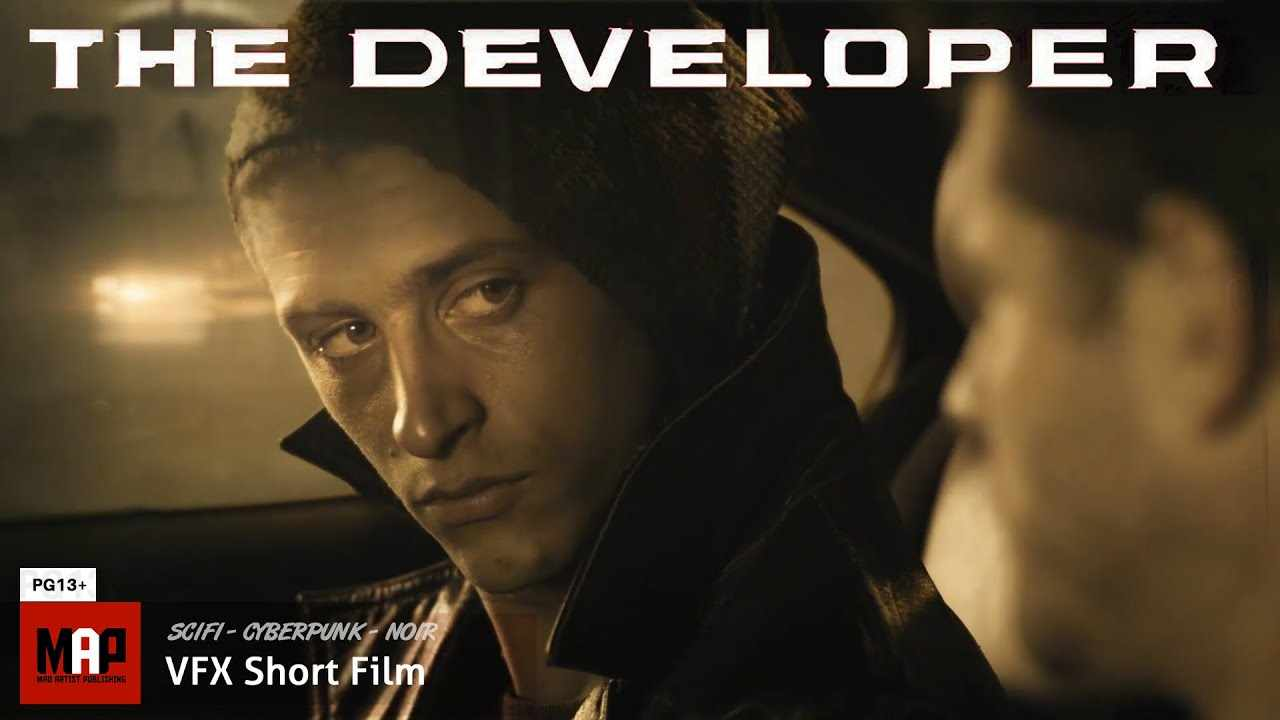Sci-Fi Cyberpunk Neo-Noir Short Film ** THE DEVELOPER ** Award Winning Film by Robert Odegnal [13+]