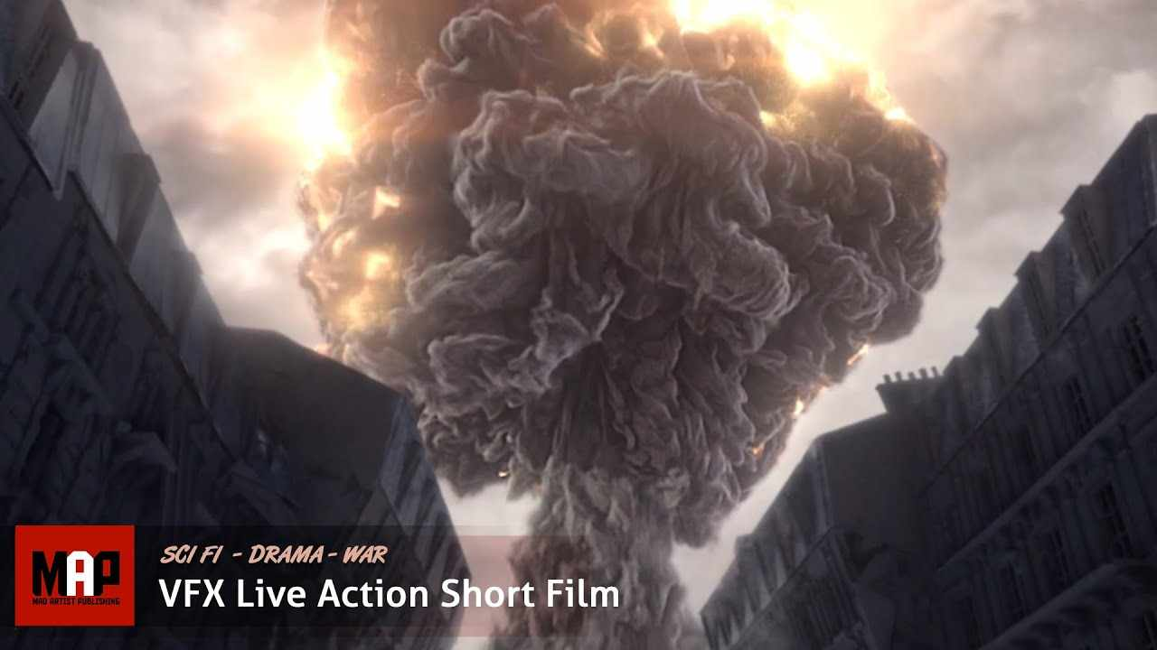 Sci-Fi VFX Live Action Short Film ** REWIND ** Apocalyptic Time Travel Film by ISART Team