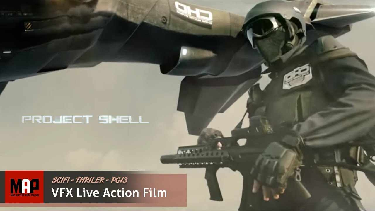 SciFi Thriller VFX Short Film ** PROJECT SHELL ** by BLOW Studio and Fátima de los Santos