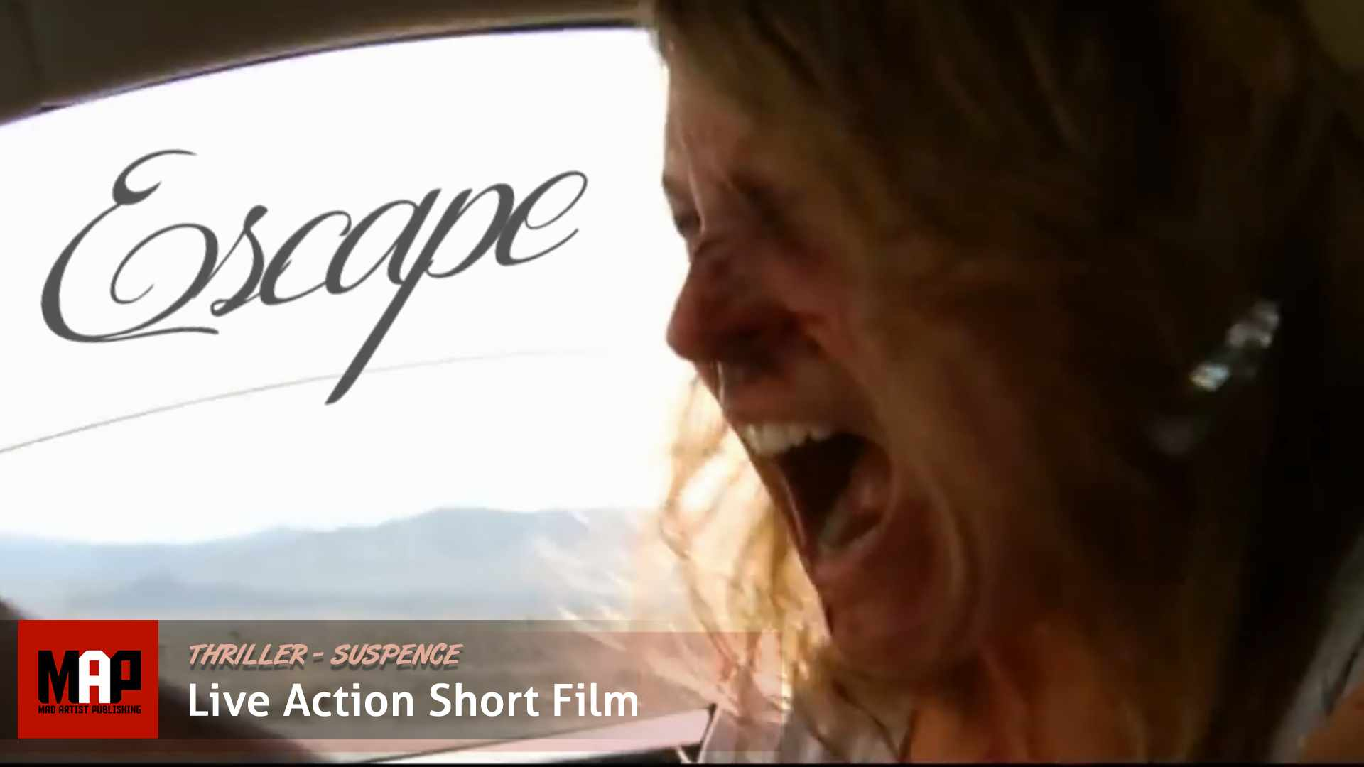 Thriller Short Film ** ESCAPE ** Live action movie by Melanie Light