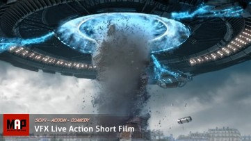 Alien Sci-FI Short Film ** INVASION DAY ** VFX Live Action Short Movie By ISART Digital Team