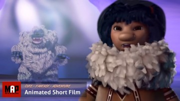 CGI 3D Animated Short Film ** NOKOMI ** Cute Adventure CGI animated movie for Kids by ESMA