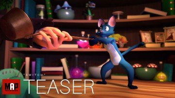 TRAILER | CGI 3d Animated Short Film ** SWITCH ** Fantasy Animation Kids Movie by Objectif 3D