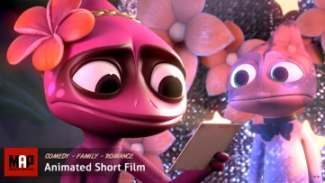 Cute CGI 3D Animated Short Film ** INVISIBLE ** Family Kids Love Story Cartoon by  Ringling Team