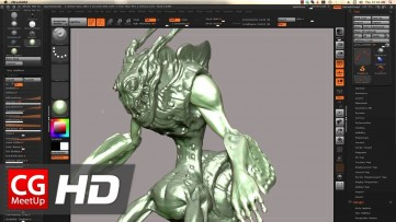 CGI ZBrush Tutorial HD