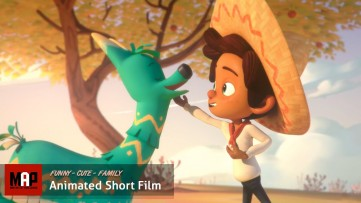 Cute CGI 3D Animated Short Film ** HOLA LLAMIGO ** Funny Family Animation for Kids by Ringling