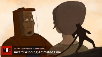 Sad Sci-Fi Animated Short Film ** LIFELINE ** Beautiful Time Travel Adventure by Andreas Salaff