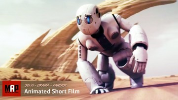 Sci-Fi CGI 3D Animated Short Film ** TABULA RASA ** Sad Emotional Film about Life by Arnoldas Vitkus