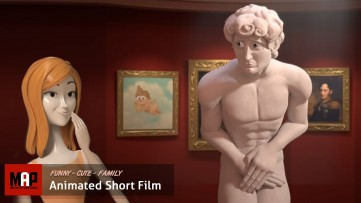 Sexy CGI 3D Animated Short Film ** THE D IN DAVID ** Hilarious Animation CGI by M.Yi & Y.Farkash
