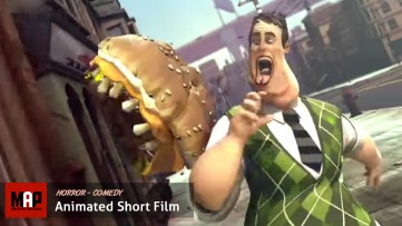 CGI 3D Animated Short Film ** HAMBUSTER ** Scary Horror cgi film animation by SupInfocom