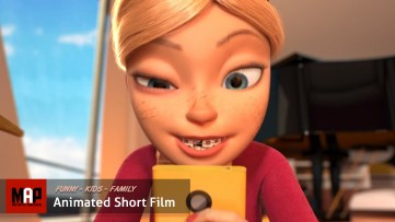 CGI 3d Animated Short Film ** SELFIE CAT ** Family Kids Movie Animation by ArtFX Team