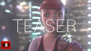 TEASER Trailer | CGI 3d Animated Short Film ** CROSSBREAD ** SciFi Thriller by Objectif3d Team
