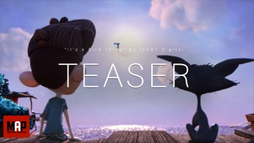 TEASER Trailer | CGI 3d Animated Short Film ** IT'S A BIRD THING ** Dark Comedy by IsART Digital