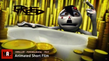 Psychological Thriller CGI 3d Animated Short Film ** GREED ** Award Winning Movie by Alli Sadegiani