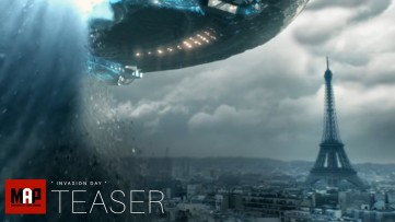 TRAILER | Sci-FI VFX Short Film ** INVASION DAY ** Alien Action Short By ISART Digital Team