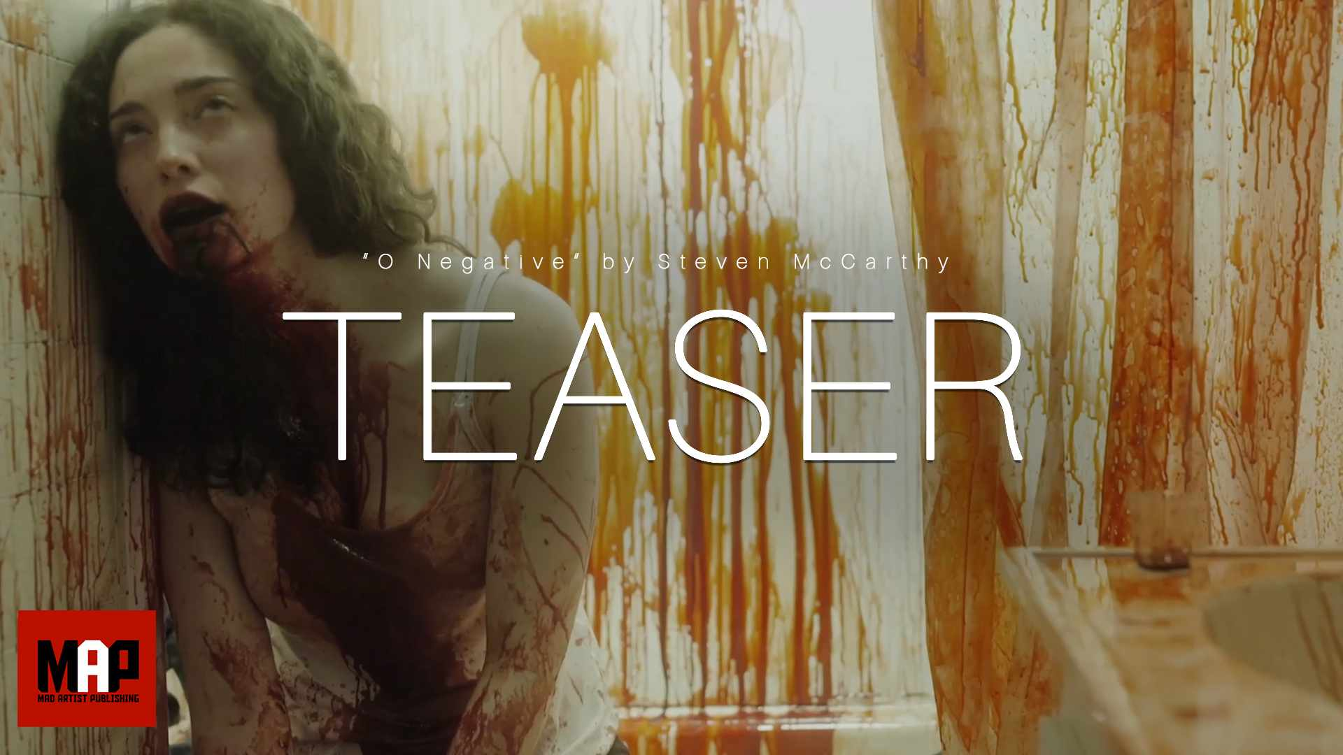 TEASER Trailer | Award Winning Short Horror Film ** O NEGATIVE ** by Steven McCarthy & Team