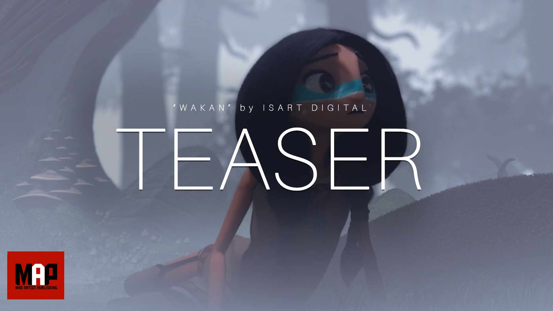 TEASER Trailer | CGI 3d Animated Short Film ** WAKAN ** Sad Fantasy Animation Movie by ISART DIGITAL