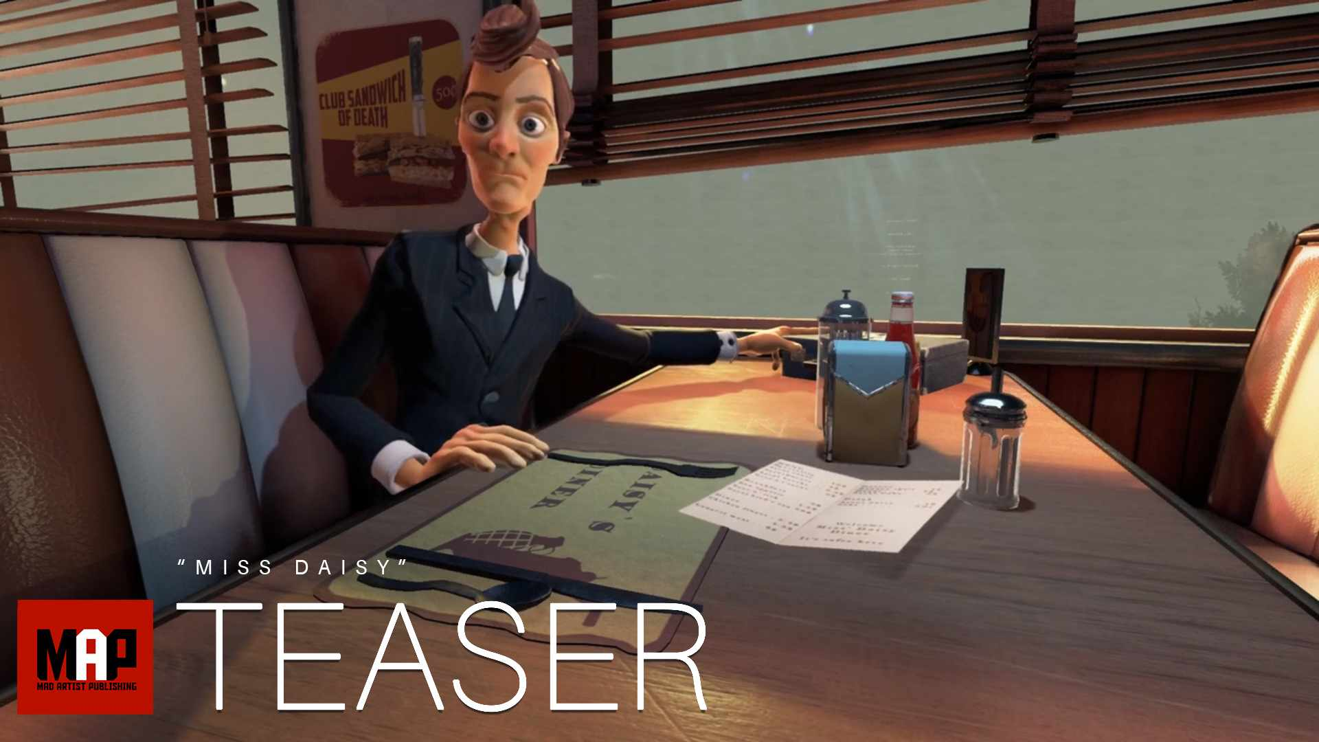 TRAILER | Funny CGI 3d Animated Short Film ** MISS DAISY ** Funny Action cg movie by NAD-UQAC